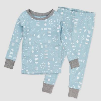 Honest Baby 2pc Play Organic Cotton Pajama Set - Blue12M