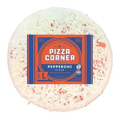 Pizza Corner Pepperoni Frozen Pizza - 24oz