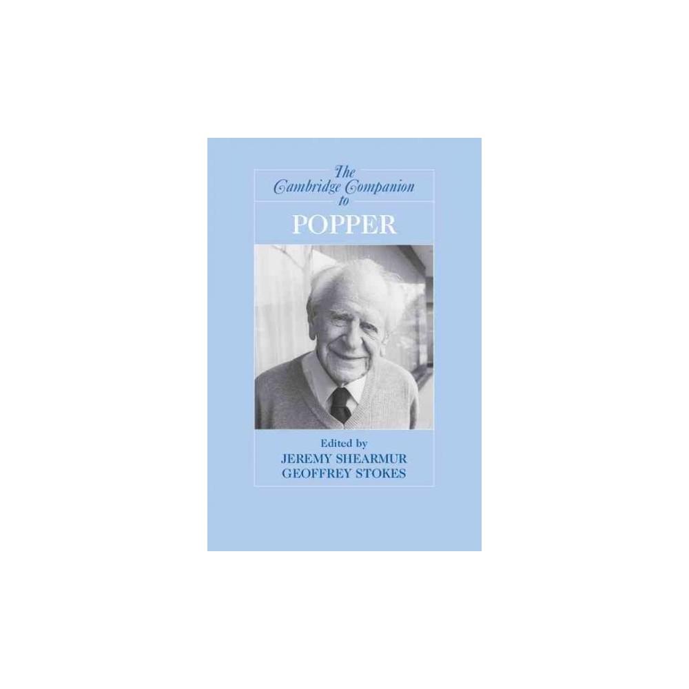Cambridge Companion to Popper (Paperback) (Geoffrey Stokes)