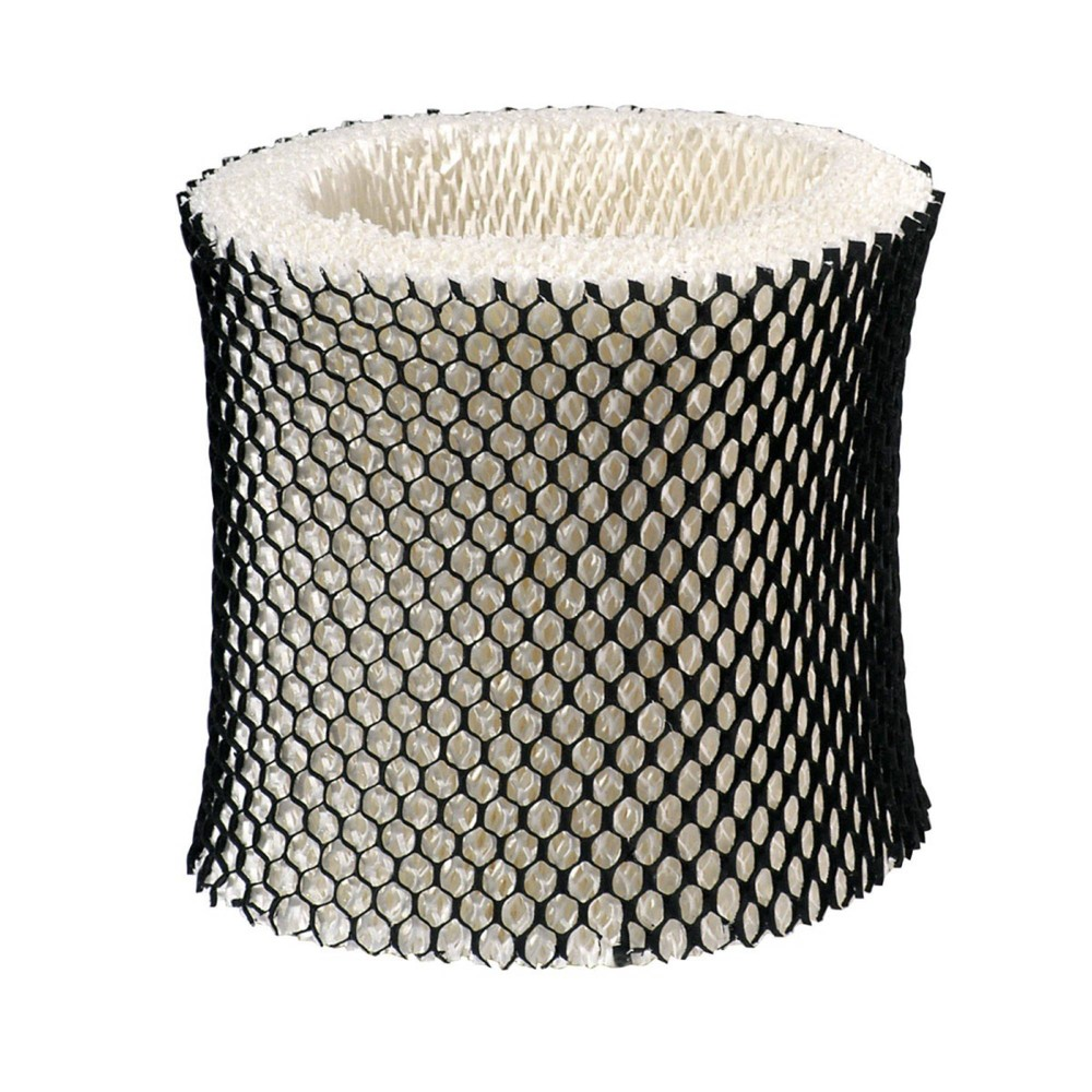 Wick Humidifier Filter HWF64CS (B) White - Holmes The Holmes Wick Humidifier Filter features an exclusive Arm and Hammer baking soda layer to help remove household odors. Enjoy breaths of nourishing air and the renewing effects of cleaner moisture in your surroundings. This triple-layer humidifier filter helps control dust and dirt build-up and helps prevent impurities from spreading by passing air through the filter. This filter is treated with an anti-microbial agent to inhibit the growth of mold, mildew and odor-causing bacteria on the surface of the wick filter. For use with Sunbeam and Holmes Humidifier models: SCM1746, HM1730, HM1745, HM1746, HM1750, and HM2200. Color: White.