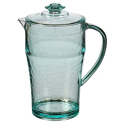 Felli Acrylic Iced Diamond Pitcher 2L - Blue