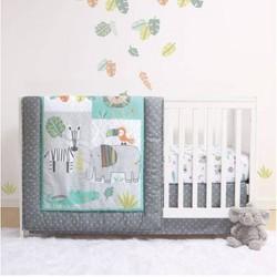 PS by The Peanutshell Safari Crib Bedding Set - 3pc