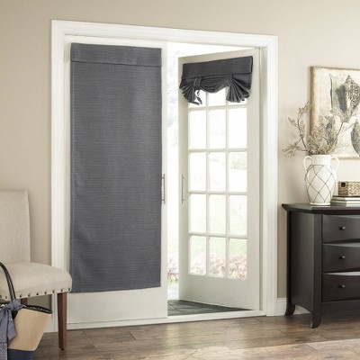 """68""""x28"""" Bryson Thermaweave Blackout French Door Panel - Eclipse"""