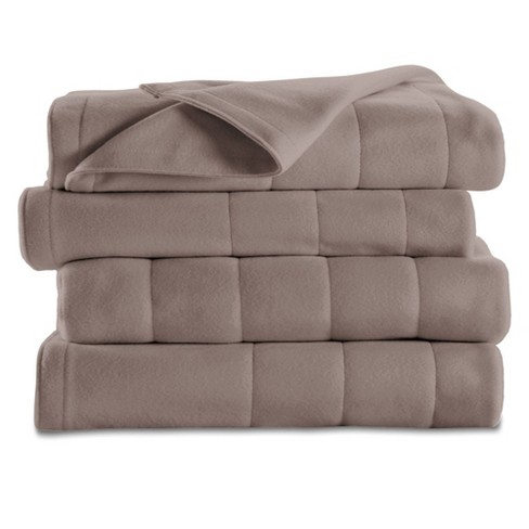 Quilted Fleece Electric Blanket Queen, Sunbeam Sleep Perfect Quilted Electric Blanket Queen Bed Review
