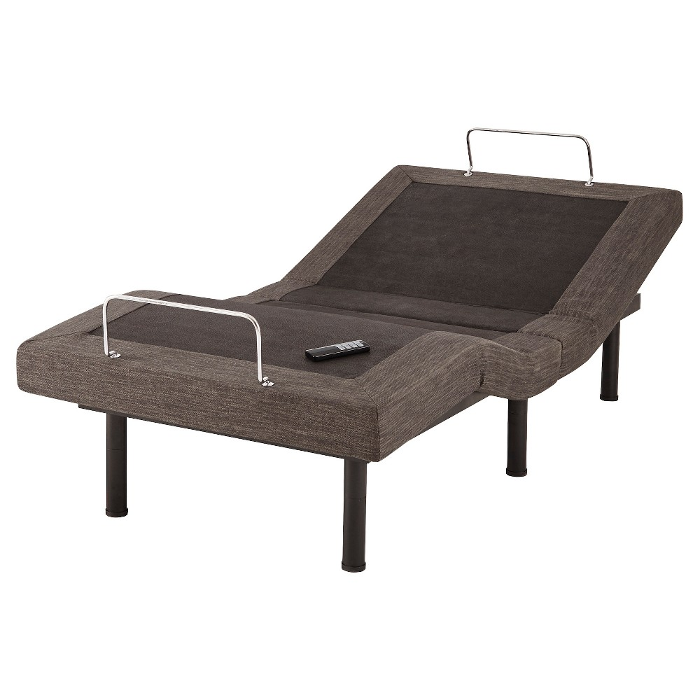 Electric Adjustable Bed Frame Queen Gray - Eco Dream