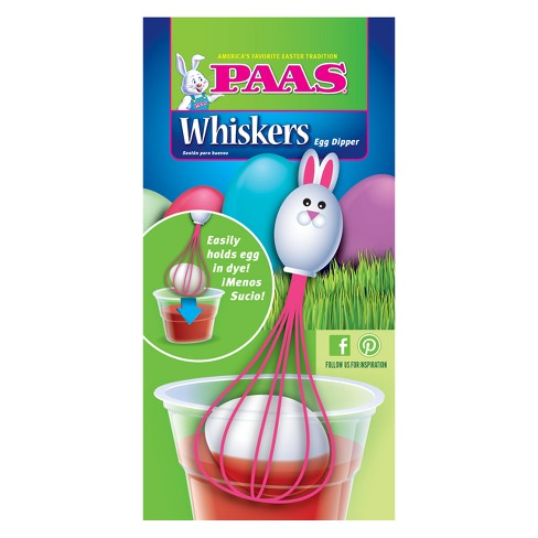 Easter PAAS Pink Whiskers Egg Dipper - image 1 of 1