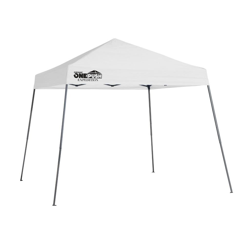 Quik Shade Expedition EX64 One Push 10 x 10' Slant Leg Canopy - White