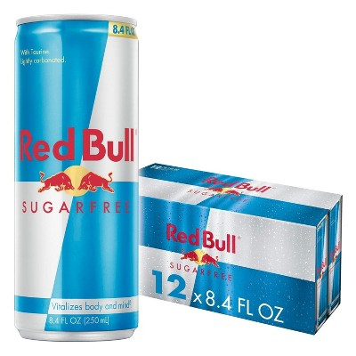 Red Bull Sugar Free Energy Drink - 12pk/8.4 fl oz Cans