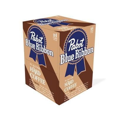 Pabst Blue Ribbon Hard Coffee - 4pk/11 fl oz Cans