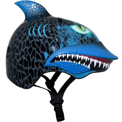 Raskullz Shark Attack Child Helmet - Black