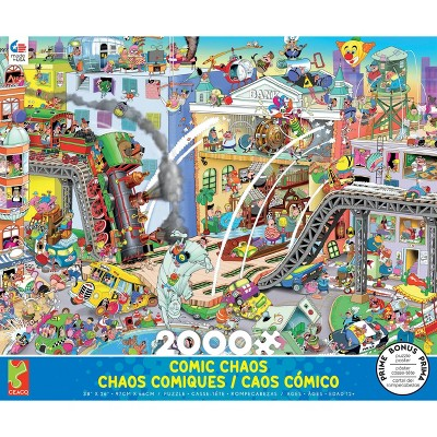 Ceaco Who Robbed the Bank? Jigsaw Puzzle - 2000pc
