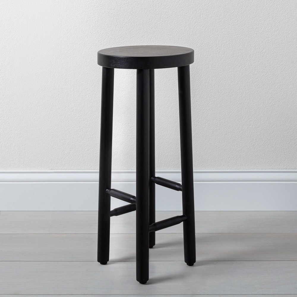 Image of Shaker Accent Drink Table Black - Hearth & Hand with Magnolia