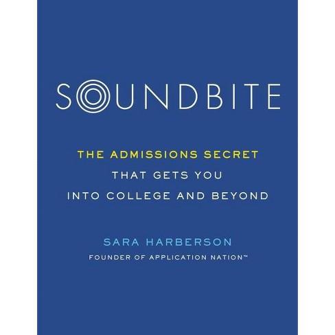 Soundbite - by  Sara Harberson (Paperback) - image 1 of 1
