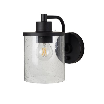 Hudson Industrial Wall Lights (Includes Bulb)Black - Threshold™