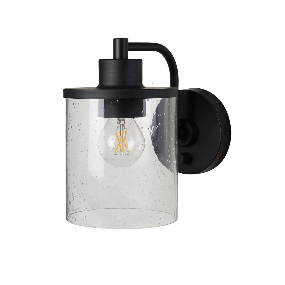 Hudson Industrial Wall Lights (Includes Bulb) Black - Threshold