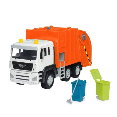 DRIVEN – Toy Recycling Truck (Orange) – Standard Series