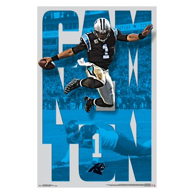the best attitude 9cdc4 2e570 Carolina Panthers Cam Newton Unframed Wall Poster