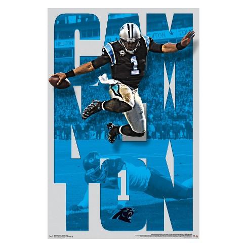 fb961138a Carolina Panthers Cam Newton Unframed Wall Poster : Target