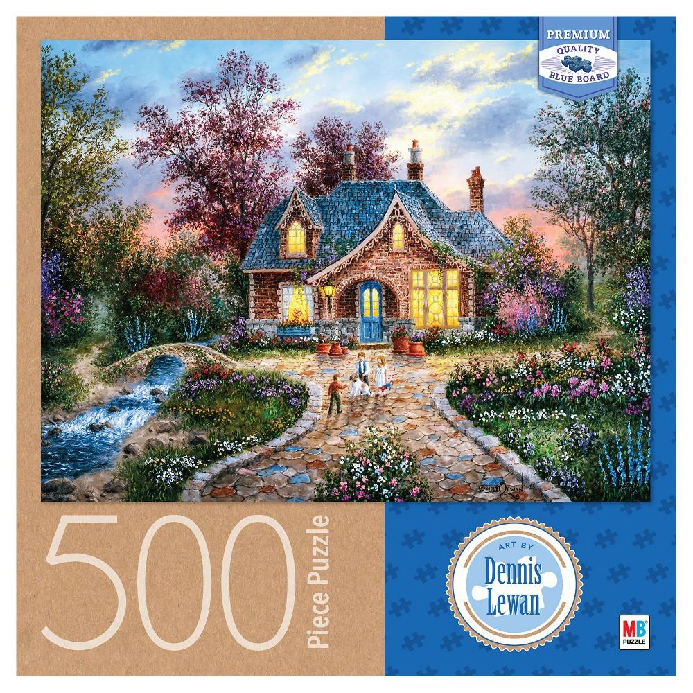 Dennis Lewan Secret Cottage 500pc Puzzle