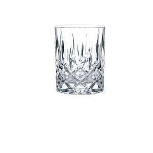 Riedel Vivant Crystal Double Old Fashion Glasses 10.4oz - Set of 4, Clear