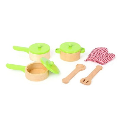 Small Foot Wooden Toys Cooking Set