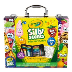 Crayola Silly Scents Mini Art Case 52pc