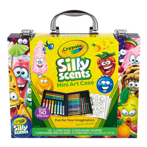 Crayola Silly Scents™ Mini Art Case 52pc - image 1 of 6