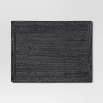 Solid Placemat Black - Threshold™