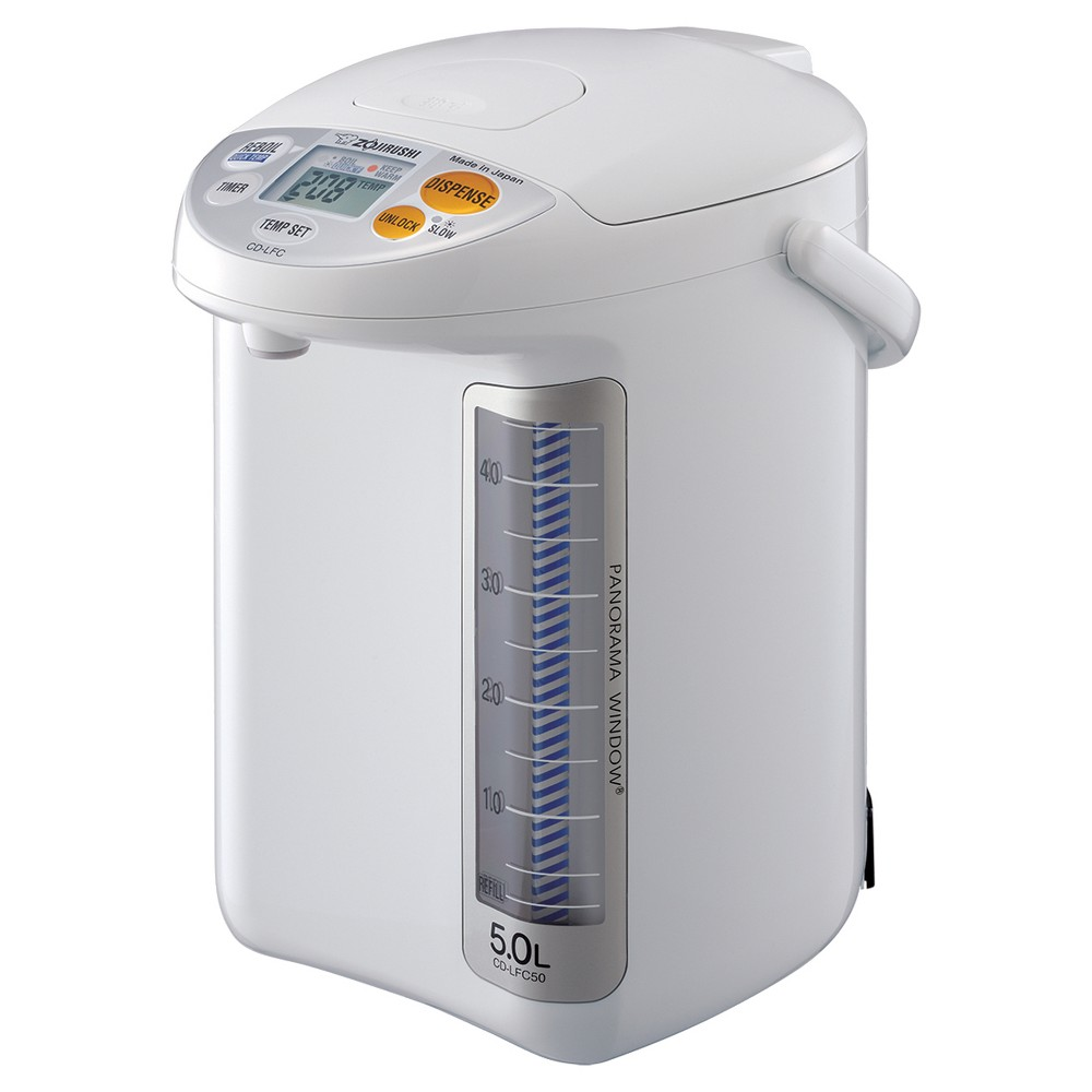Zojirushi Panorama Window Micom Water Boiler & Warmer 5 L. – White 50588759