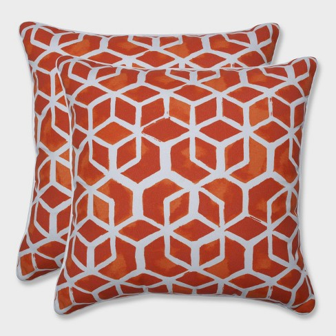 "18.5"" 2pk Celtic Marmalade Throw Pillows Orange - Pillow Perfect - image 1 of 1"