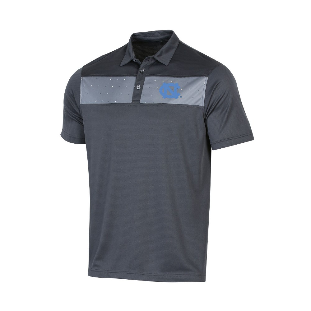 NCAA Men's Short Sleeve Polo Shirt North Carolina Tar Heels - M, Multicolored