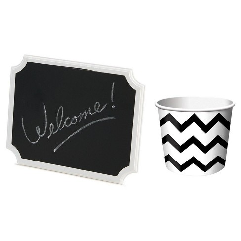 Treat Cup And Chalkboard Sign - image 1 of 1