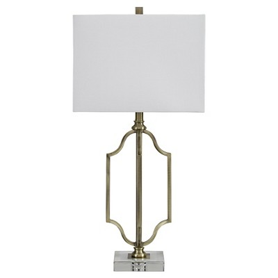 Arabela Table Lamp Antique Brass Finish - Signature Design by Ashley