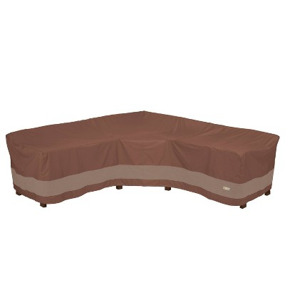 Ultimate V-Shape Sectional Lounge Set Cover - Duck Covers