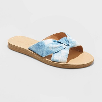 Women's Melody Knotted Slide Sandals - Universal Thread™