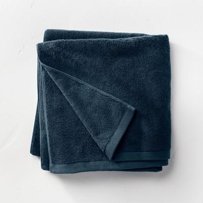 Organic Bath Sheet Navy - Casaluna™