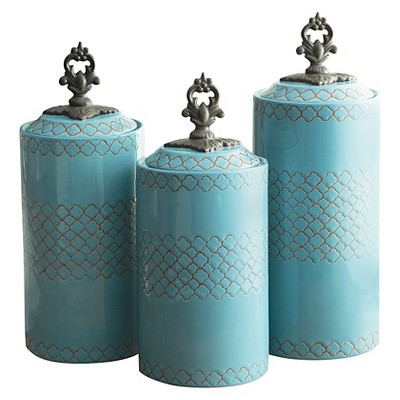 American Atelier Canisters - Blue