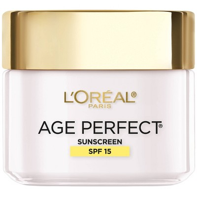 Facial Moisturizer: L'Oreal Paris Age Perfect Hydrating Moisturizer