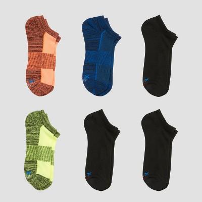 Boys' Hanes Premium 6pk No Show Socks - Colors May Vary