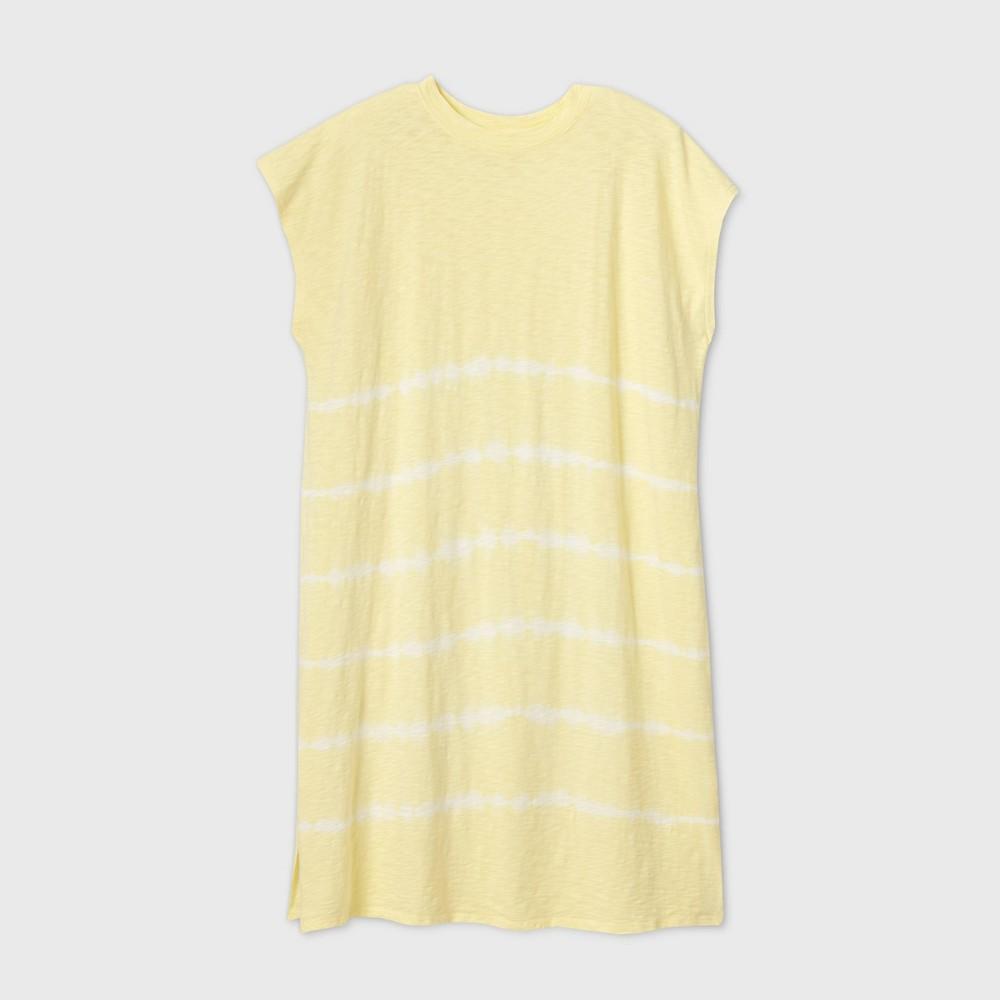Women 39 S Plus Size Tie Dye Tank Dress Universal Thread 8482 Lime 1x