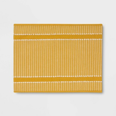 Striped Placemat Warm Yellow - Opalhouse™
