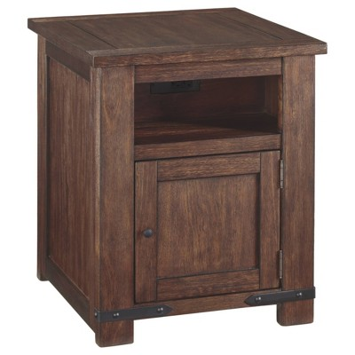 Budmore Rectangular End Table Brown - Signature Design by Ashley