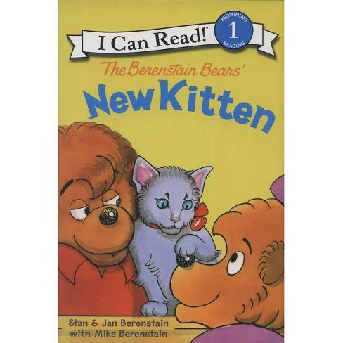 The Berenstain Bears' New Kitten - (I Can Read! - Level 1 (Hardcover)) (Hardcover) - image 1 of 1