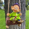 """Disney Mickey Mouse 24"""" Dopey Swing-n-Ring Resin Statue - image 4 of 4"""