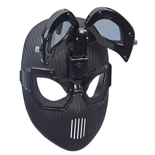 Marvel Spider-Man: Far From Home Spider-Man Stealth Suit Mask for Spider-Man Roleplay image number null