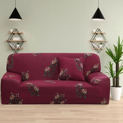 1 Pc Polyester Machine Washable Sofa Slipcovers - PiccoCasa