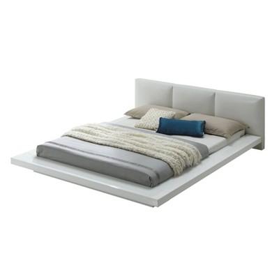 King Landon Low Profile Bed Black - miBasics