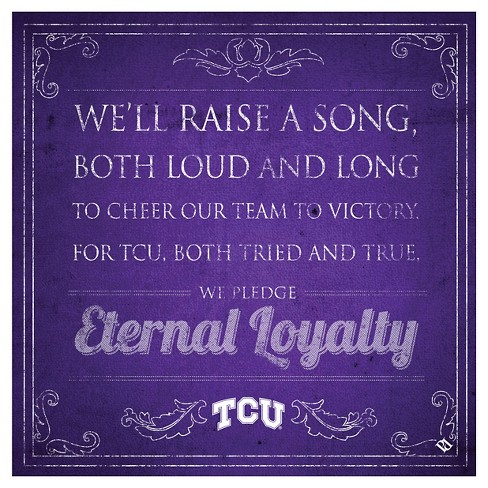 NCAA TCU Horned Frogs ThirstystoneSpirit Trivets - Purple - image 1 of 1