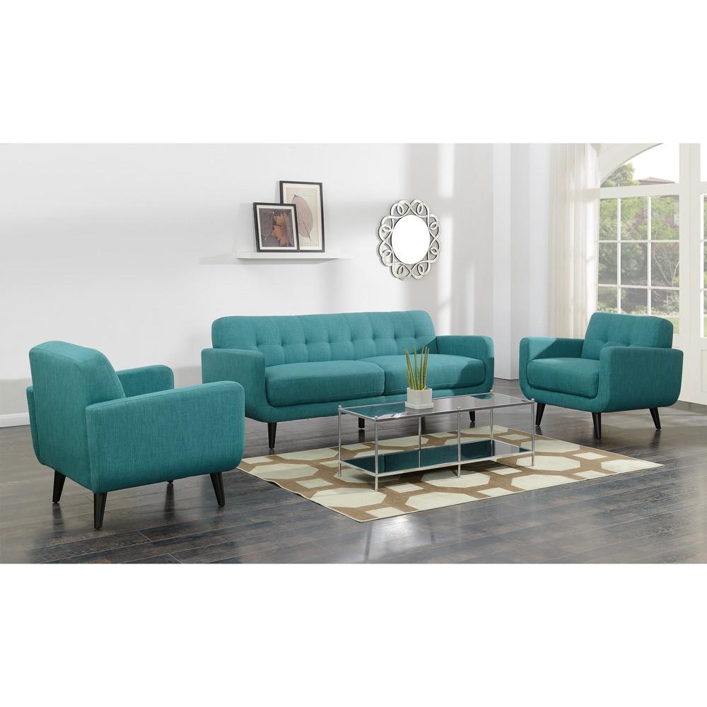 Hailey Sofa & Chair Set Vivid Teal - Picket House Furnishings