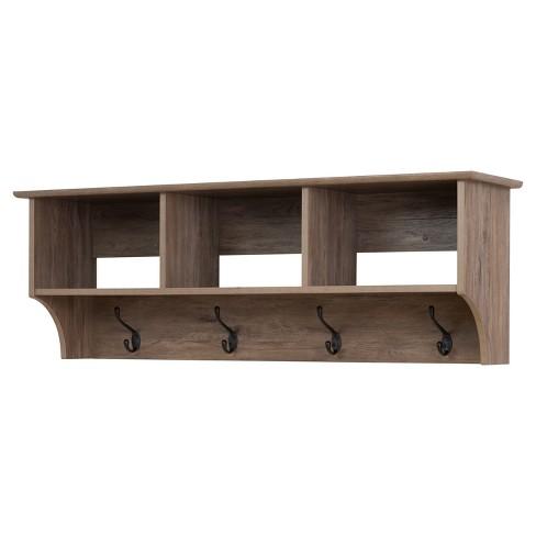 "Douglas 48"" Hanging Entryway Shelf - Prepac - image 1 of 4"